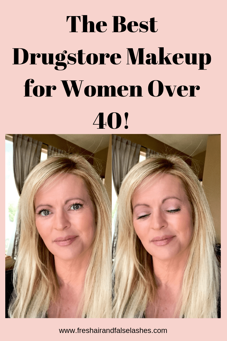 The Best Drugstore Makeup For Women Over 40 Fresh Air And False Lashes
