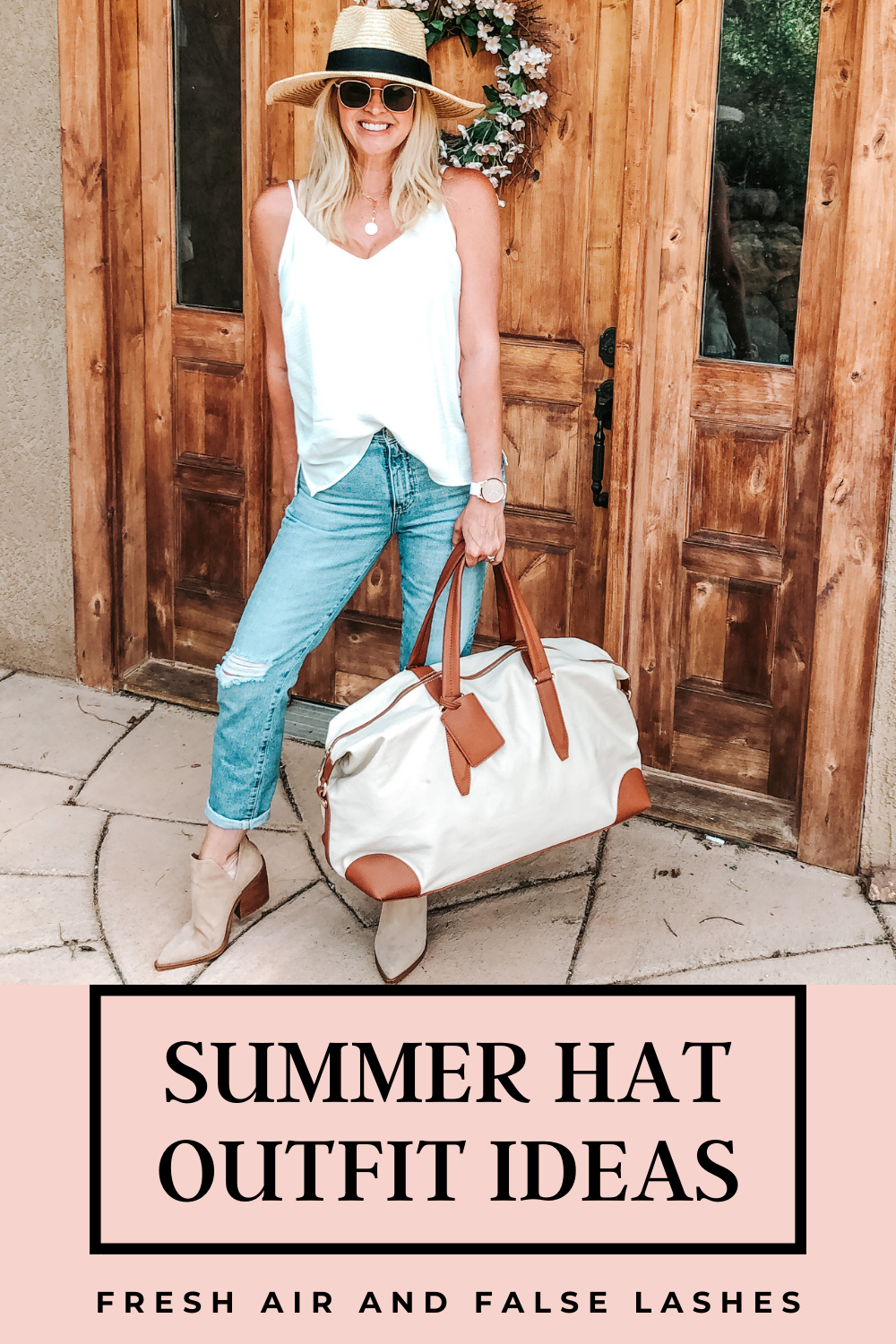 Summer hat outfit ideas